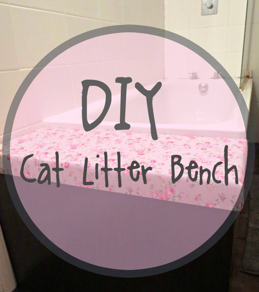 DIY Cat Litter Bench